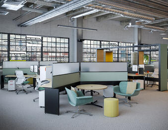 Flexible desking and tables