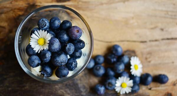 Blueberries. 7 Brain Foods to Help You Focus and Boost Productivity this Summer