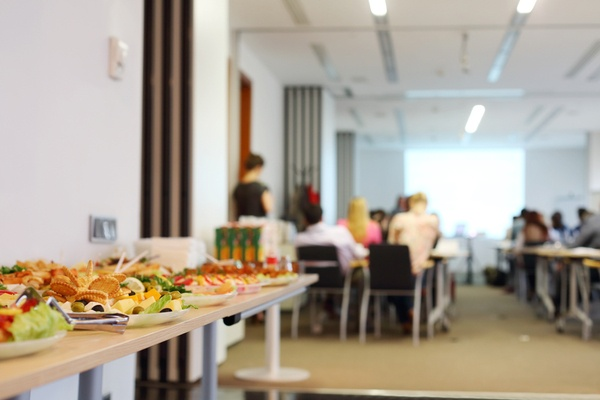Have a Safety Lunch and Learn. Safety Awareness Month Ideas for an Office.