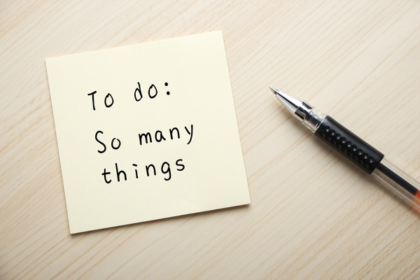 Prioritize tasks on your first day back.  Tips to help you return back to work after vacation.