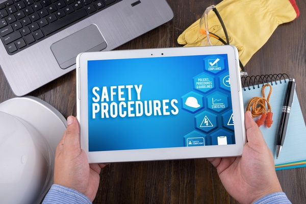 Establish Emergency Procedures. Safety awareness month ideas for an office.