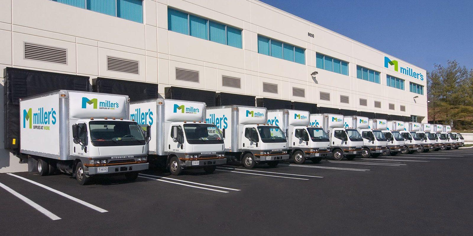 Millers trucks & warehouse