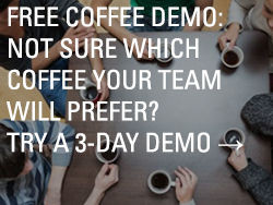 free coffee demo try a 3-day demo thumbnail