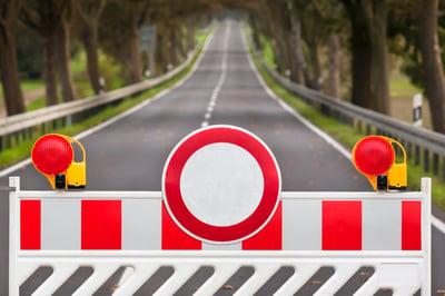 prevent the road blocks